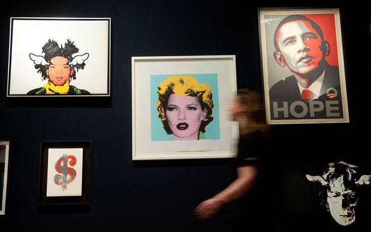 Banksy paintings up for auction at Bonhams' Urban Art Sale #art #Banksy