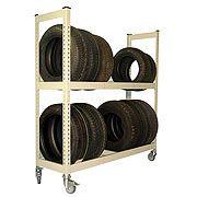 METAL POINT ® PLUS Tire Rack Cart