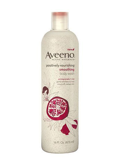 The 7 Best Body Scrubs Under $20 - Aveeno Positively Nourishing Smoothing Body Wash | allure.com
