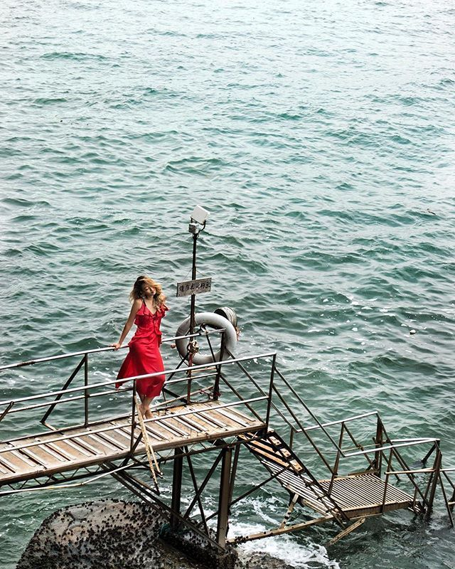 Keep Calm And Be A Lady In Red Sai Wan Swimming Shed Hong Kong Sonyaustralia Rx100v Mlm Label Travel Traveller Travelgram