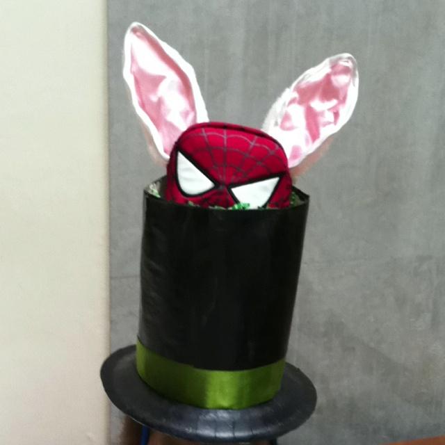 Boy Easter hat