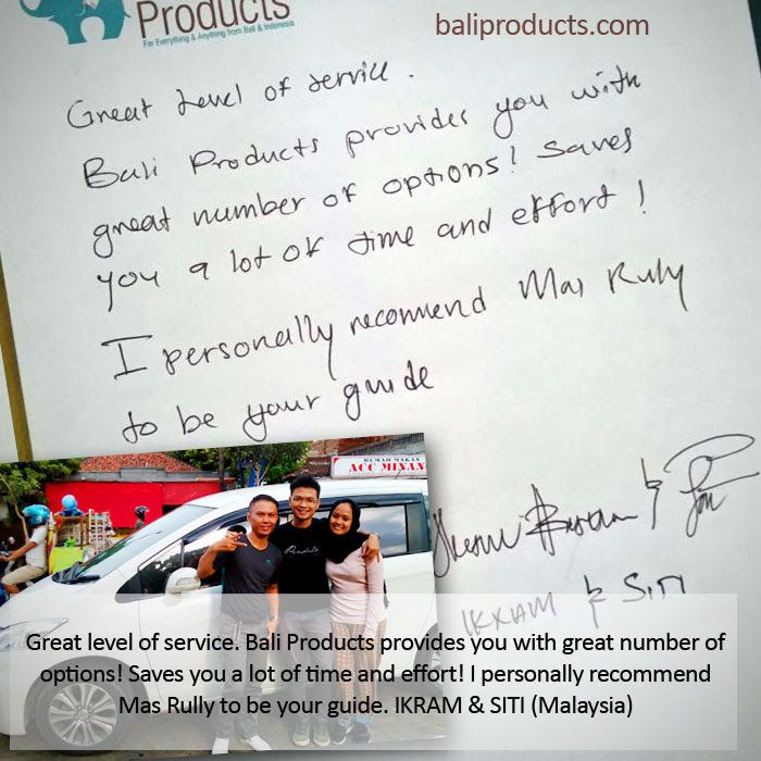 We are happy, when our customers are happy. And that is our most important aim. Thank you for the great feedback from our wonderful customers. Find out yourself and enjoy our renowned high levels of customer service and contact us for your Bali shopping needs. #baliproducts