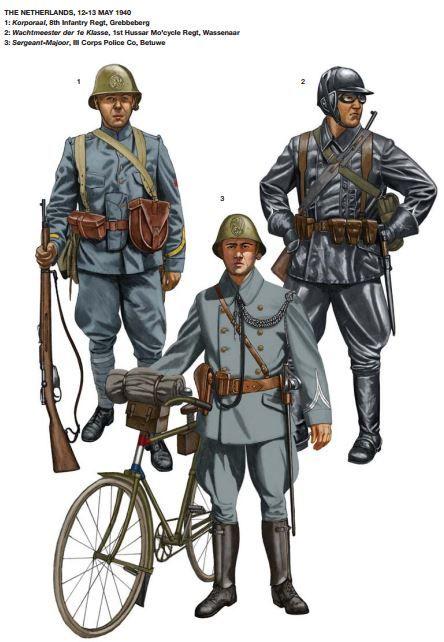 Dutch troops ww2