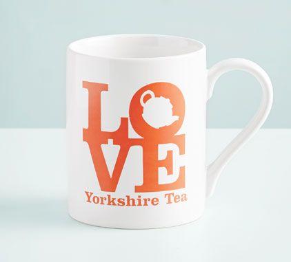 Love Yorkshire Tea mug
