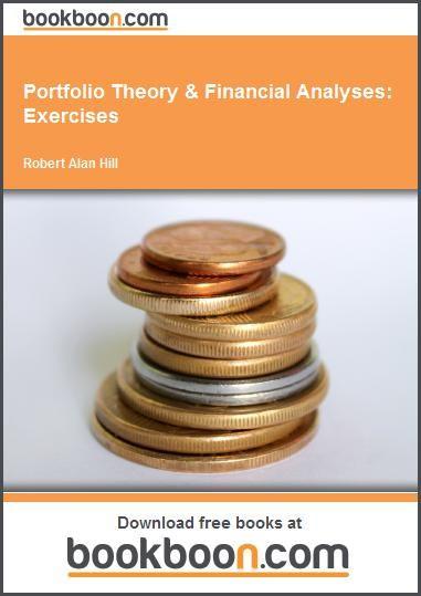 Portfolio Theory & Financial Analyses: Exercises