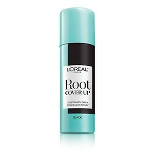 Experience the root touch up spray by L'Oréal Paris Root Cover Up. Cover gray hair in seconds for flawless roots with an ammonia & peroxide free formula.