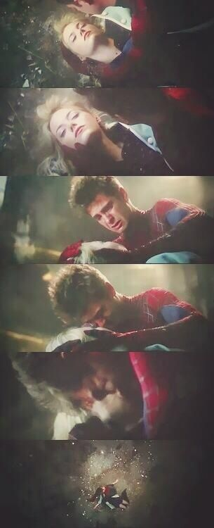 This part was so sad , he loved her so much , I thought she was going to wake up but when she didn't it was so sad. :(
