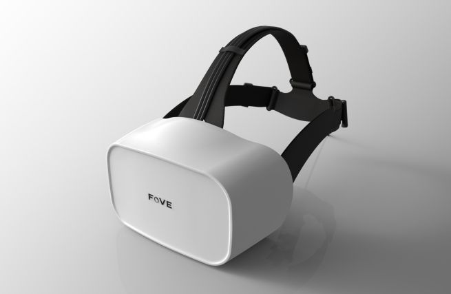 Fove shows off a new build of its eye-tracking VR headset