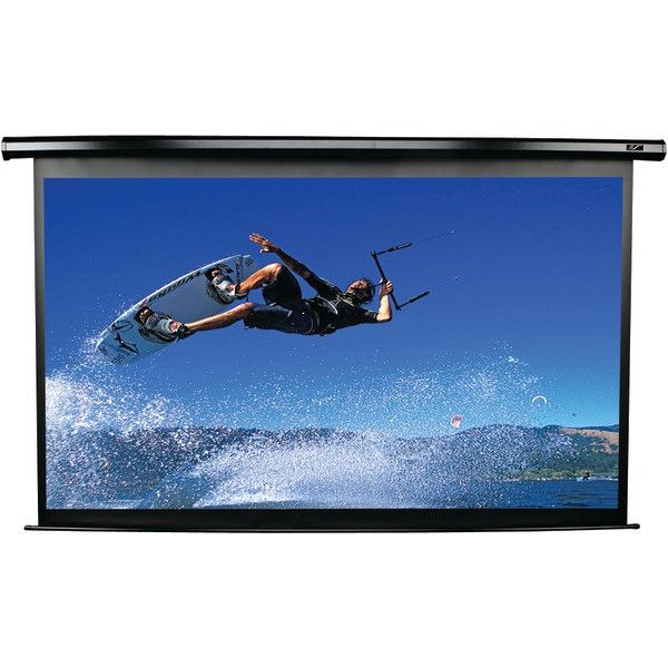 "Elite Screens Electric125H Spectrum Series Electric Screen (125""; 61.3""H X 109""W; 16:9 Hdtv Format)"