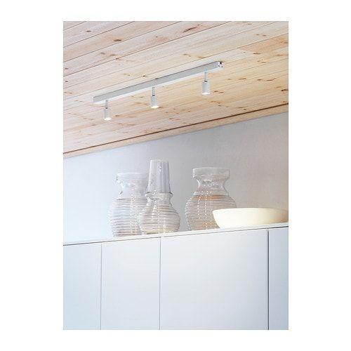 Bave Led Ceiling Track 3 Spots White Lighting Kitchen Led