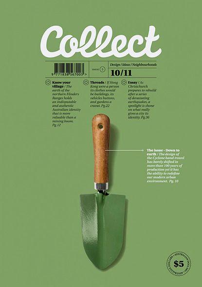 Collect / gardening, poster, graphic design / on TTL Design