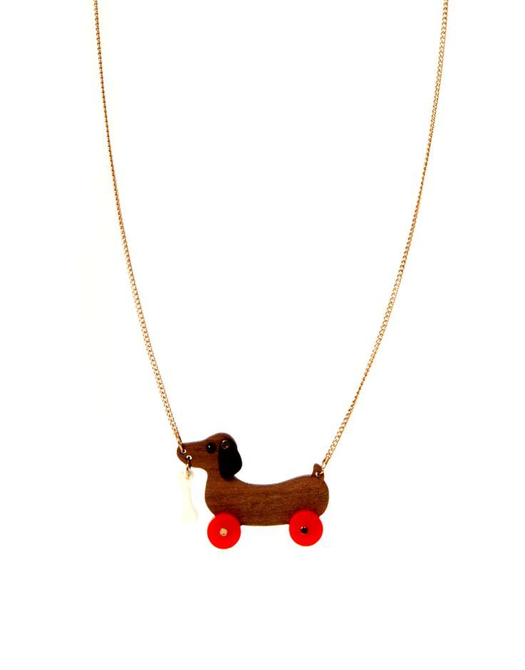 Dog neckless @ asos.com