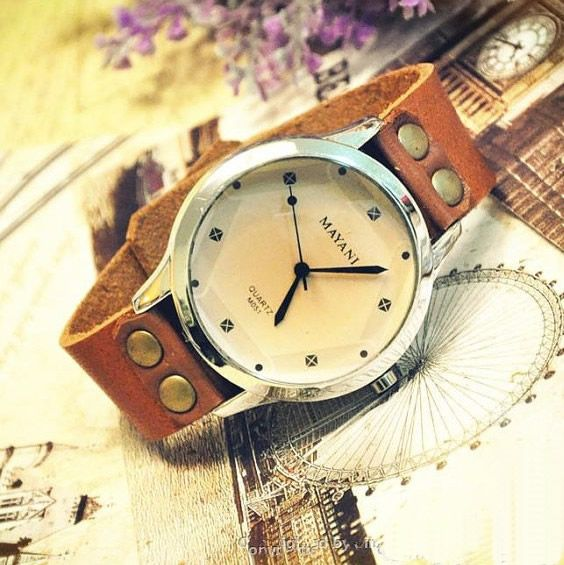 Stan Vintage Watches | Womens Watch vintage Leather Vintage Style Wrist Watch (WAT015) | Online Store Powered by Storenvy