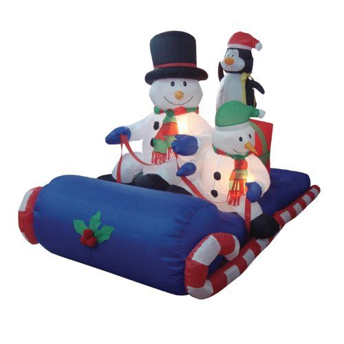 9 best Christmas Inflatables images on Pinterest Yards, Penguins