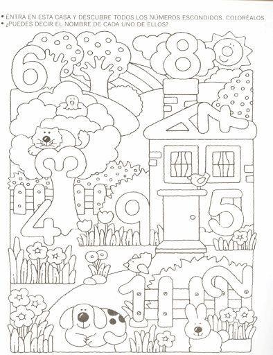 kinder lernen vorschule - tipss und vorlagen #colorazione