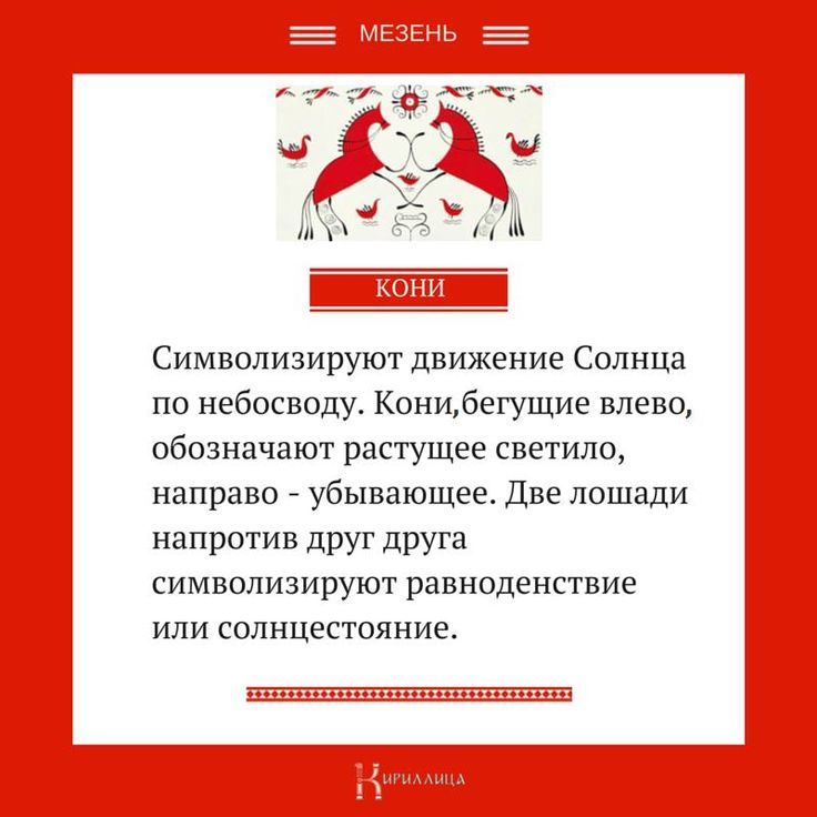«Мезенская космология» Кони