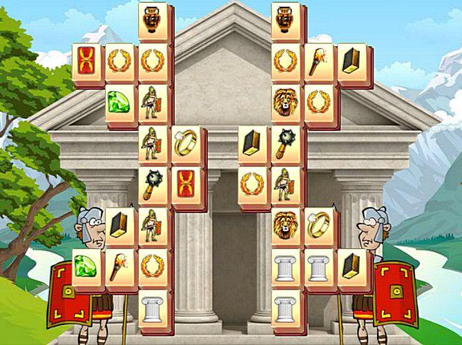 """Újra terjeszkedik a Római Birodalom. Ezúttal a """"madzsongpiacon"""" nyomul. Nem kis sikerrel. - Hasonló játék: Ősi római madzsong   #róma #római #római birodalom #rómaiak"""