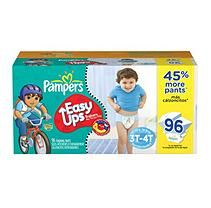 Pampers - Easy Ups, Boys, Size 5 (30-40 lbs.), 96 ct.