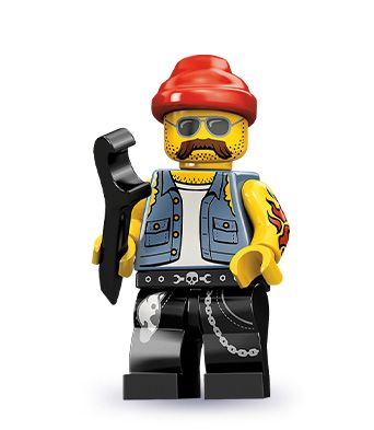 """Lego Motorcycle Mechanic 