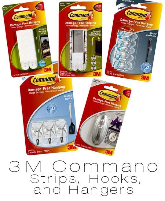 3M-Command-Products  --  STORAGE IN DORMS * SMALL SPACES