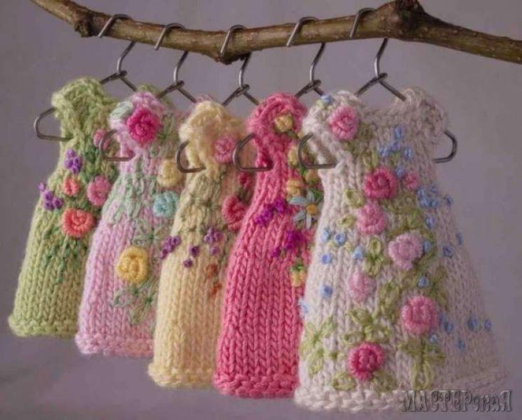 миниатюрные платья для кукол - Поиск в Google