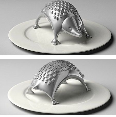 hedgehog grater.  I think I need one of these.  #kitchen #kitchentools