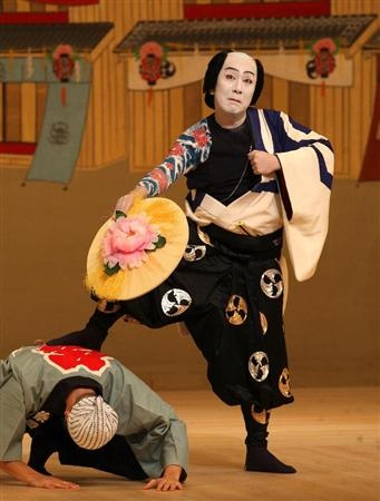 kabuki costumes that could easily jump over to The Mikado