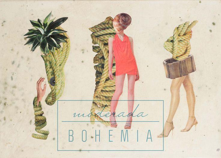 Adriana Bonza. Collage MODA