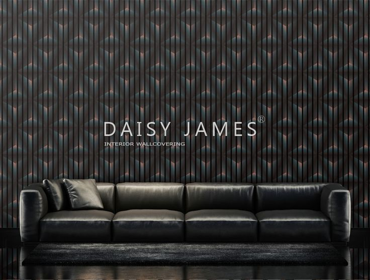 "Daisy James interior Wallcovering ""The Pyramids"" #interiordesign #design"