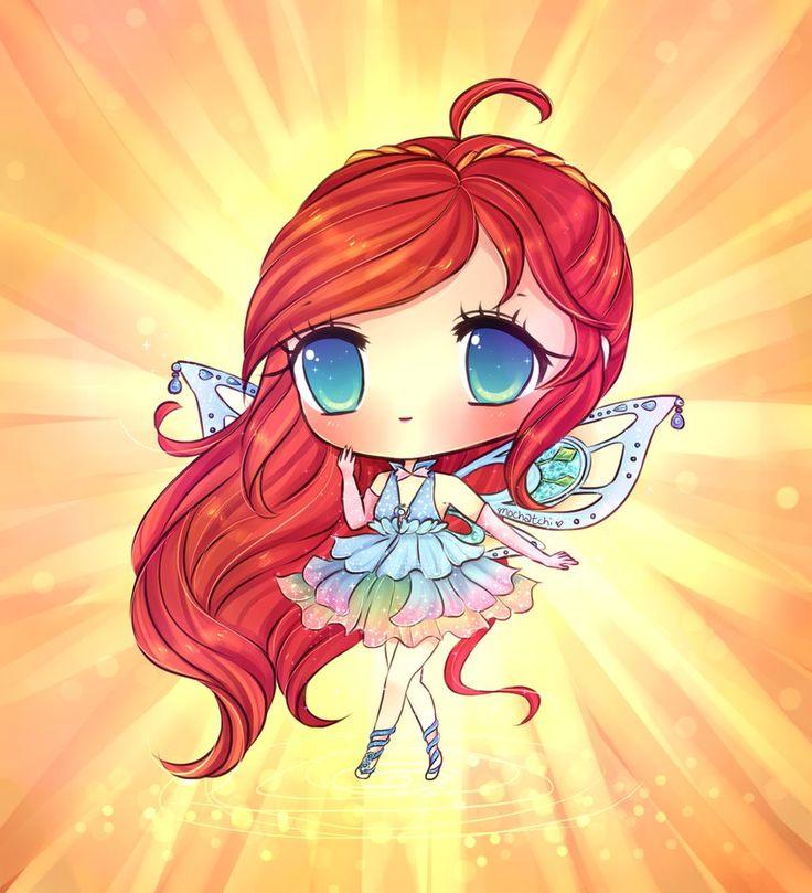 Winx Club Bloom Enchantix by mochatchi on DeviantArt