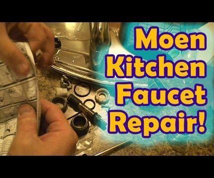 Leaky Moen Kitchen Faucet Repair