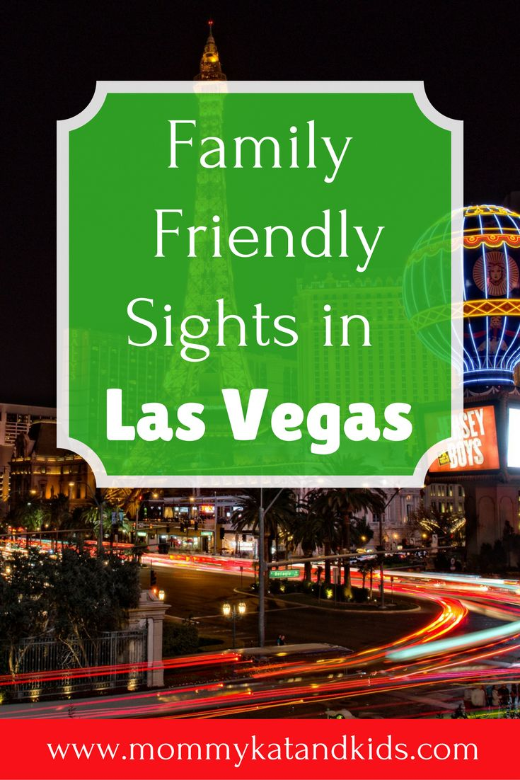 Most people think of Las Vegas as an adults only destination, but it's not! There are plenty of things to do in Las Vegas with kids. Check out our favorite things to do as a family in Las Vegas! Don't forget to save this to your travel board.