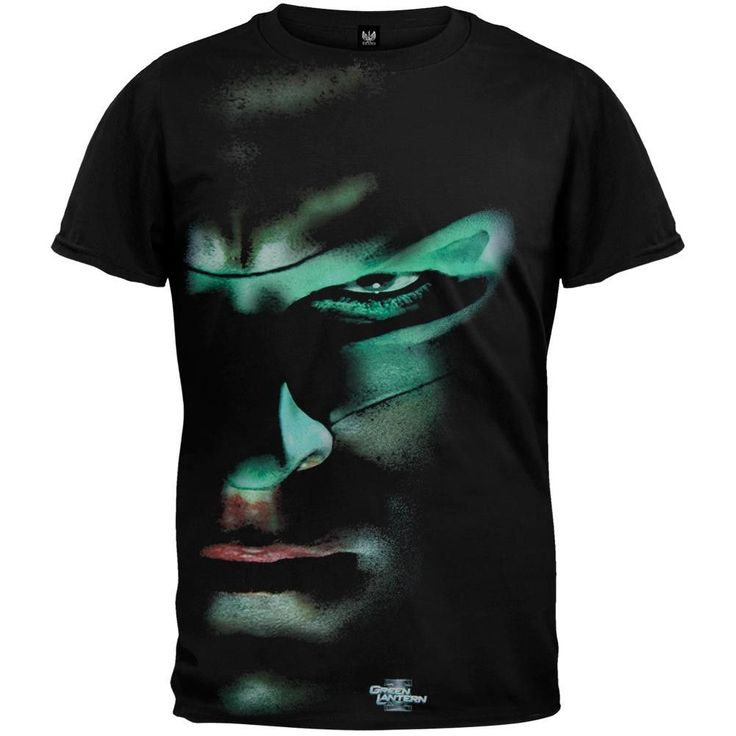 Green Lantern - Movie Face Soft T-Shirt