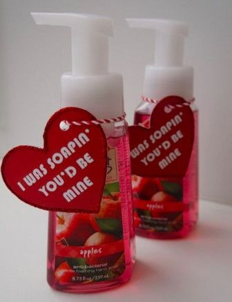 """I was """"soapin'"""" you'd be mine."""