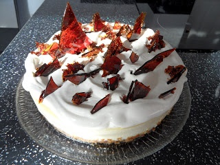 hairy bikers cheese cake Craft with Ruth Cartwright