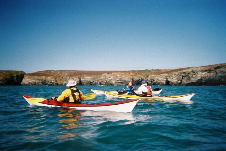 Sea Kayaking in North Wales around Anglesey