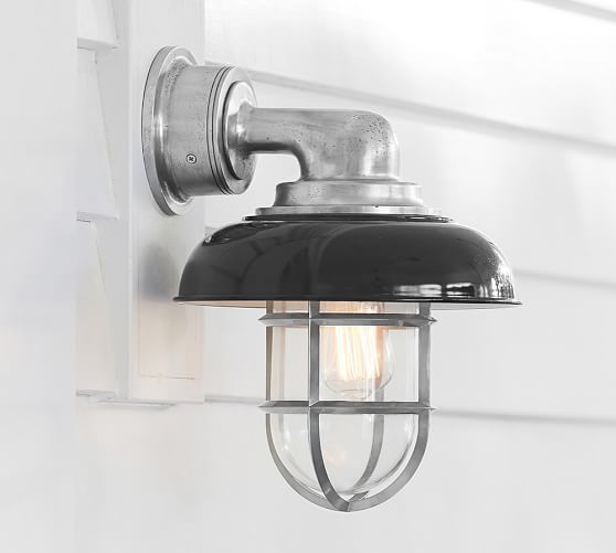 Avalon Indoor/Outdoor Sconce | Pottery Barn