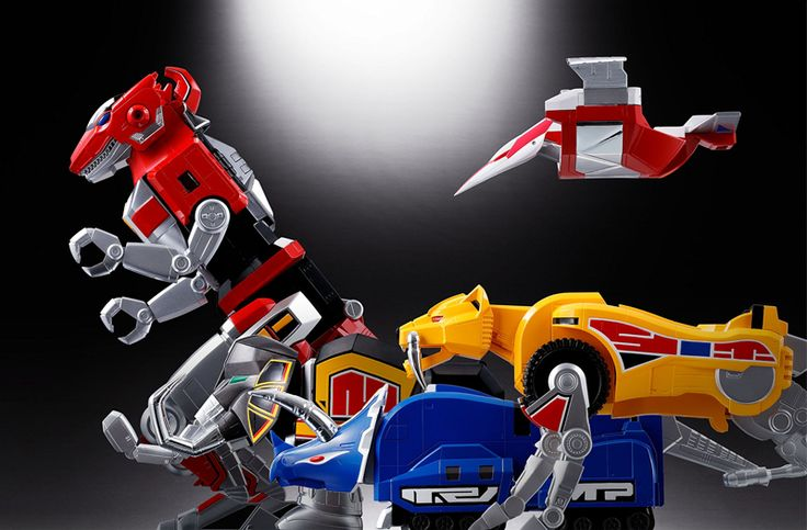 Whoa, Look at This Amazing Power Rangers Megazord Toy