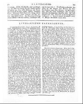 Wissenschaftliches Magazin für Aufklärung / hrsg. von Ernst Ludwig Posselt. - Leipzig : Jacobäer Bd. 3, St. 1/2. - 1787 - JPortal