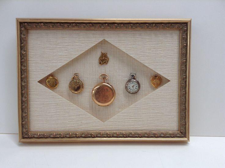 Encadrement de montres à gousset par notre atelier de Versailles