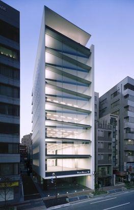 Rock Belay Building, Tokyo, Japan by Nikken.jp Architectural Design Studios