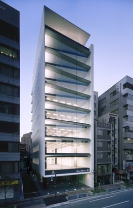 Rock Belay Building, Tokyo, Japan by Nikken.jp Architectural Design Studios