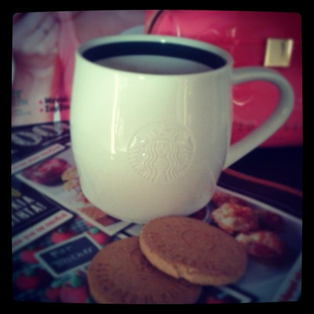 one of my favourite starbucks cups!!~