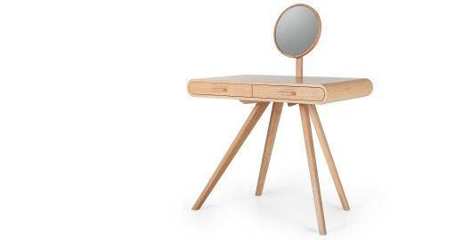 Fonteyn Dressing Table, Oak | made.com