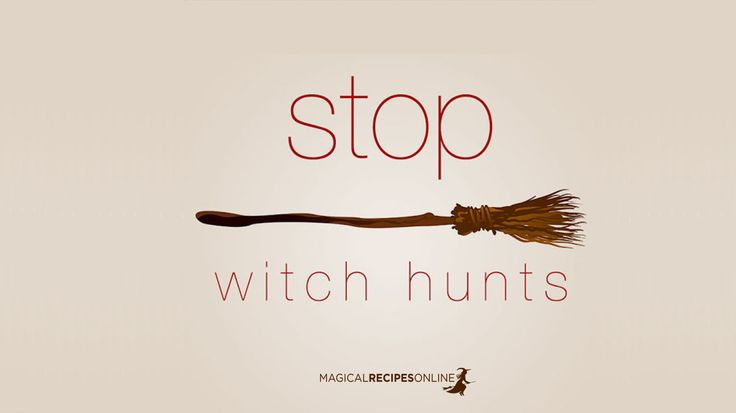 Magical Recipies Online | Stop Witch Hunting - thousands of Witches murdered annually