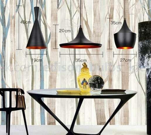 Подвесной светильник для кафе люстра Tom Dixon style лампы Эдисона Киев - изображение 2