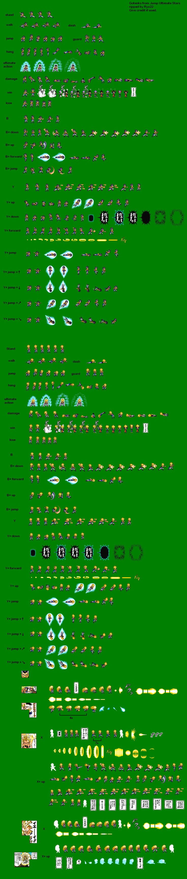 Sprite Database : Gotenks