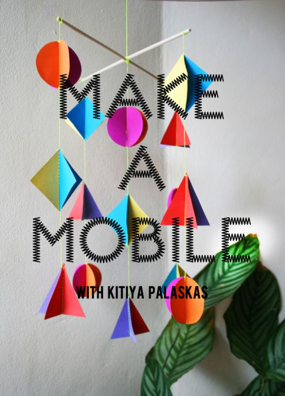 how to make a mobile for a book report