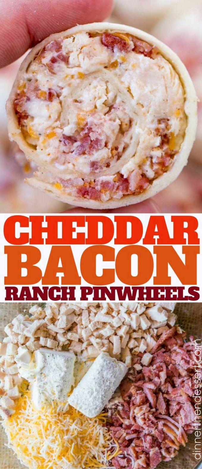 2017 05 potluck ideas for small groups - Cheddar Bacon Ranch Pinwheels