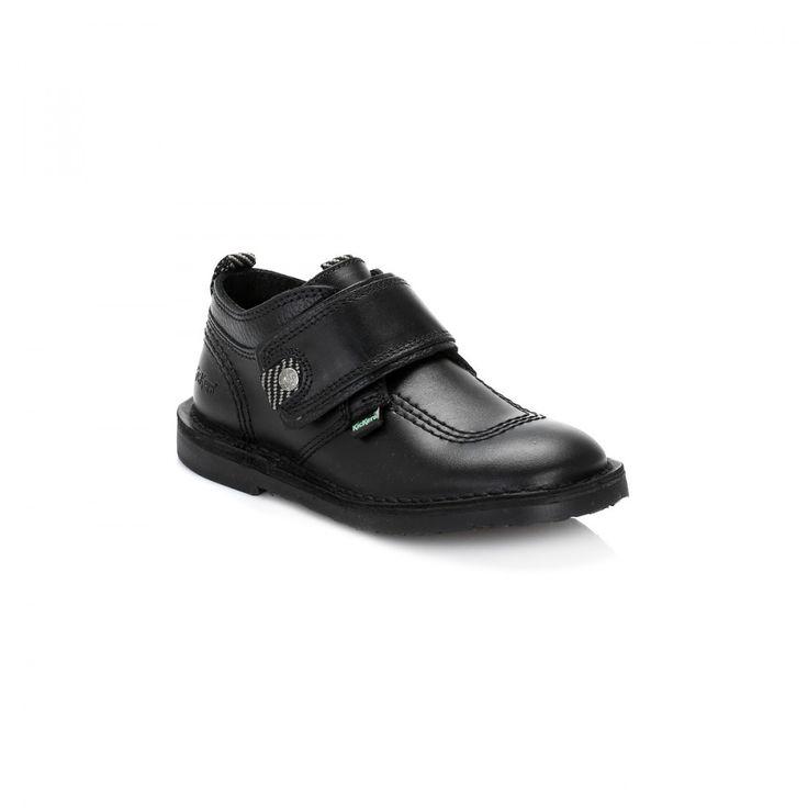 Kickers Infant Black Adlar Stralo Shoes